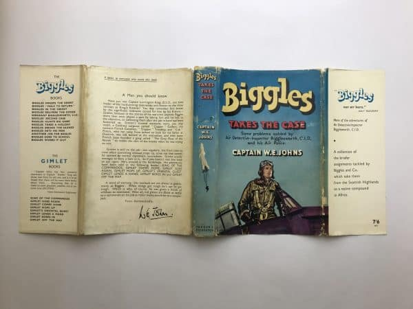 we johns biggles takes the case first edition4