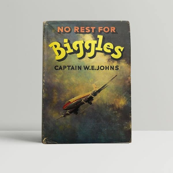 we johns no rest for biggles first edition1