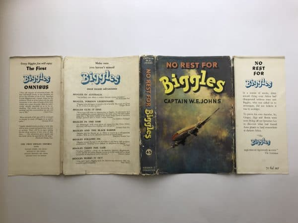 we johns no rest for biggles first edition4