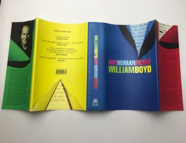 william boy any human heart signed first edition5