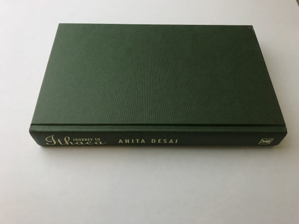 anita desai journey to ithaca signed first edition4