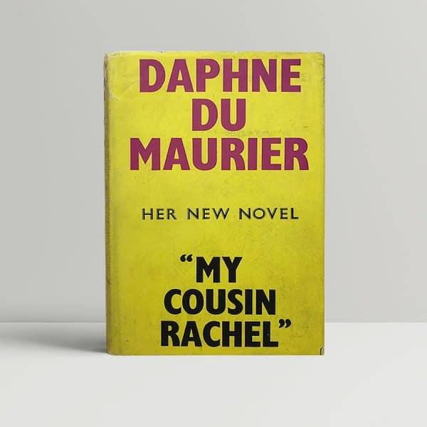 daphne du maurier my cousin rachel first1
