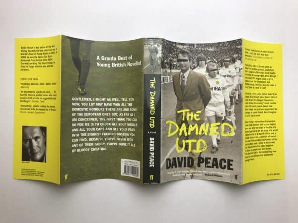 david peace the damned united 1st edition4