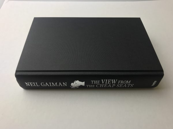 neil gaiman the view from the cheap seats signed first edition4