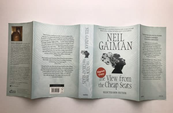 neil gaiman the view from the cheap seats signed first edition5