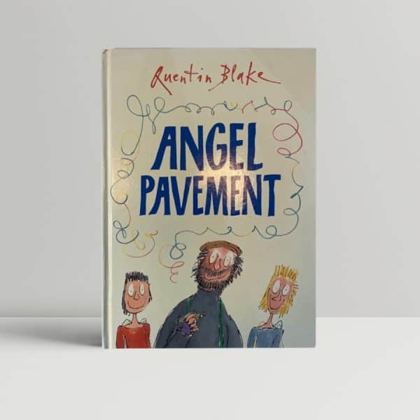 quentin blake angel pavement signed first edition1