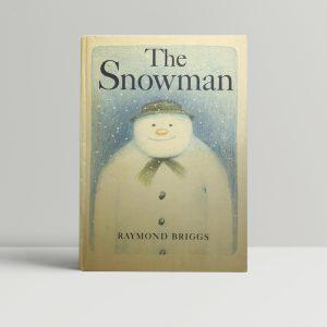 raymond briggs the snowman 1st ed1