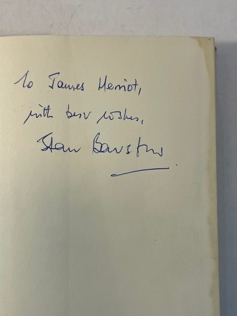 stan barstow a raging calm signed first edition2