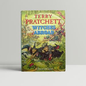 terry pratchett witches abroad first ed1 1