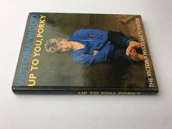 victoria wood up to you porky signed first edition4