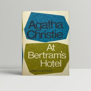 agatha christie at bertrams hotel first 185 1