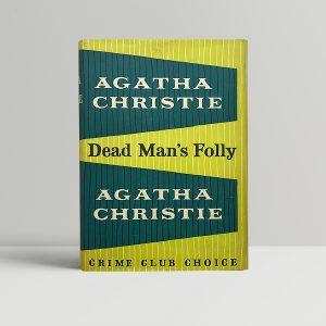 agatha christie dead mans folly first 300 1