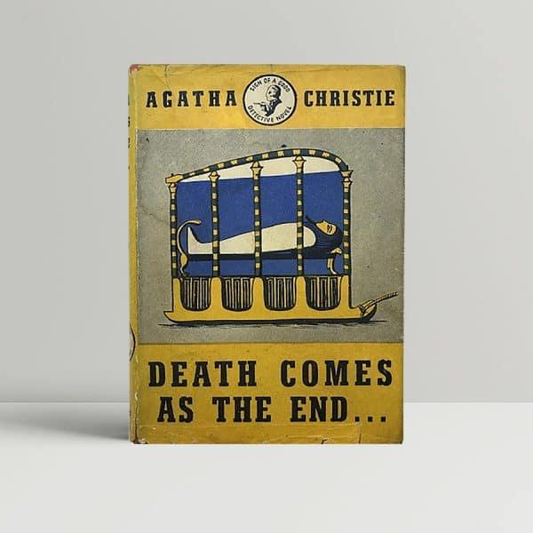 agatha christie death comes as the end first ed1