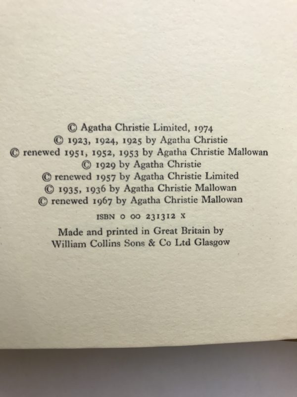 agatha christie pairots first cases first 2