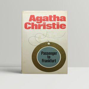agatha christie passenger to frankfurt first 1