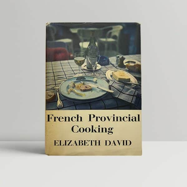 elizabeth david french provincial cooking first ed1
