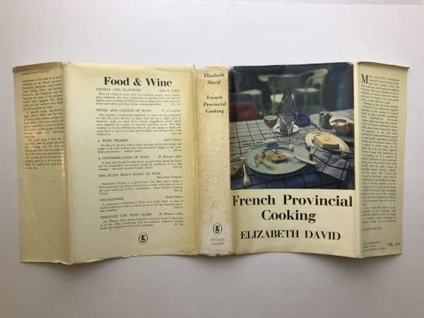 elizabeth david french provincial cooking first ed4