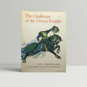 ian serraillier the challenge of the green knight signed first ed1