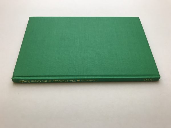 ian serraillier the challenge of the green knight signed first ed4