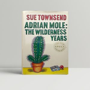 sue townsend adrian mole the wilderness years signed1