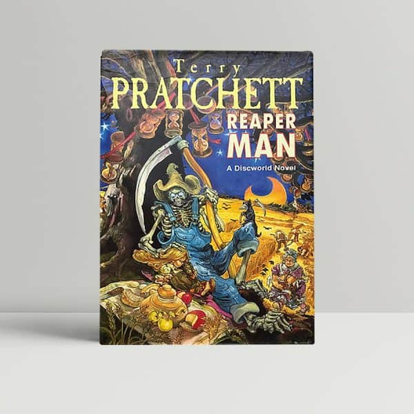 terry pratchett reaper man signed first ed1