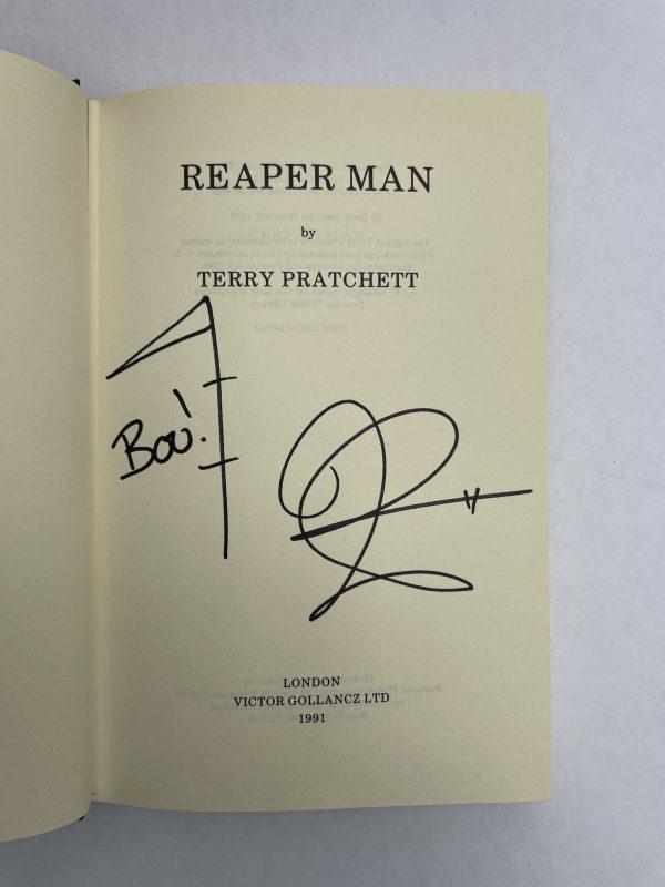 terry pratchett reaper man signed first ed2