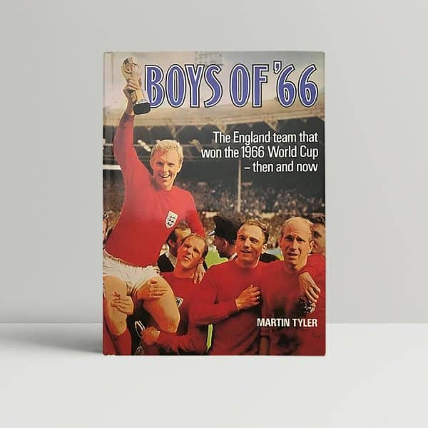 tyler martin boys of 66 signed first ed1