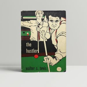 walter s tevis the hustler first ed1