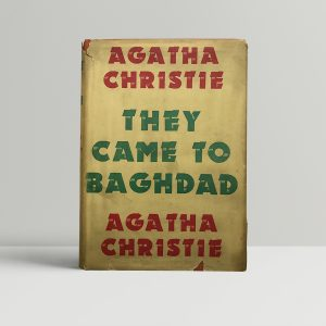 agatha christie the came to baghdad first ed1