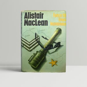 alistair maclean force 10 from navarone signed 1st ed1