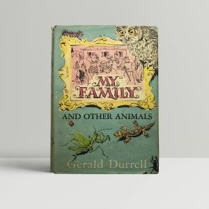 gerald durrell my family first ed1