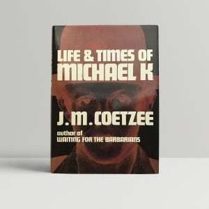 jm coetzee life and times of michael k signed first edition1