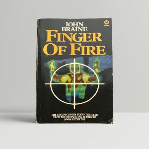 john braine finger on fire signed edition1