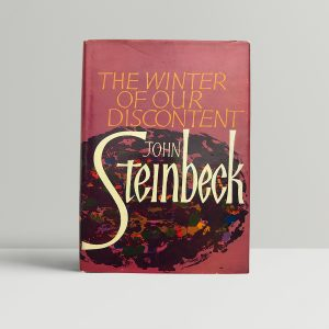 john steinbeck the winter of our discontent first ed1