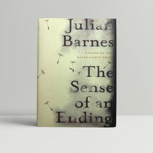 julian barnes the sense of an ending 1st ed1