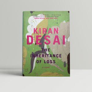 kiran desai the inheritance of loss signed 1st ed1