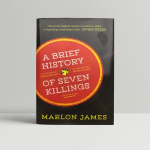 marlon james a brief history of seven killings signed first edition1